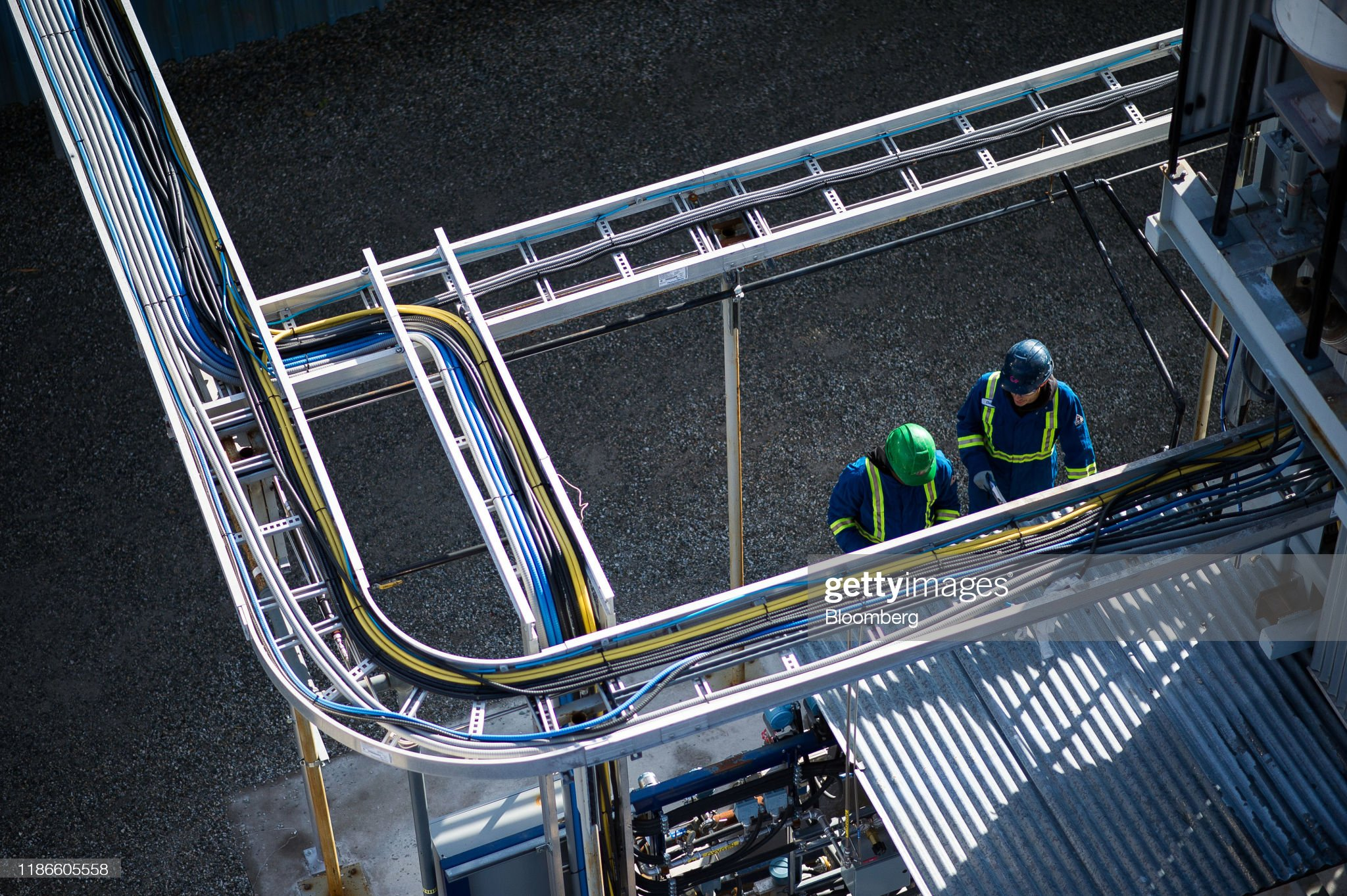 Operations At A Carbon Engineering Direct Air Capture Pilot Facility : News Photo