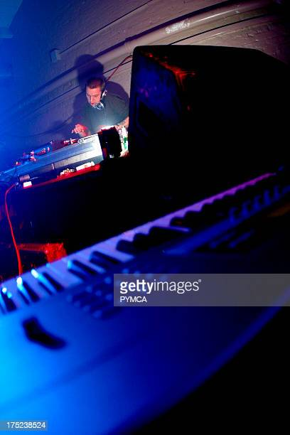 Techno / electro DJ Andrew Weatherall of Two Lone Swordsmen UK 2000s