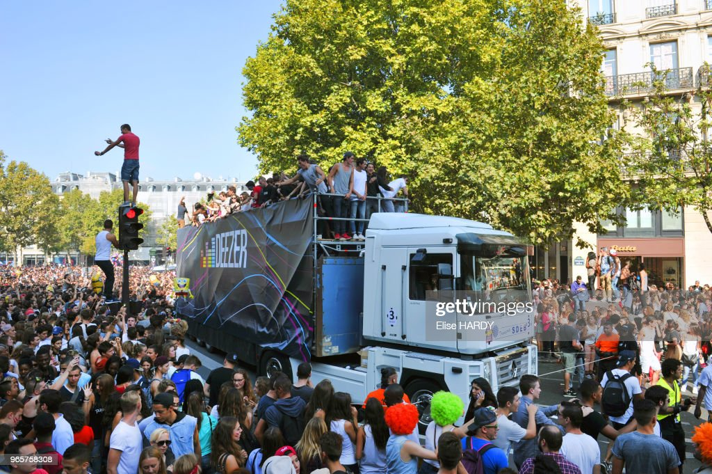 Techno parade : News Photo