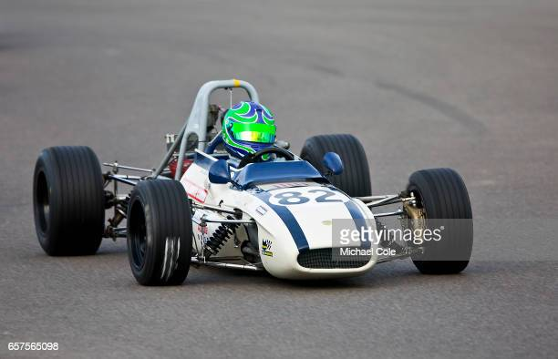 TechnoFord in the Derek Bell Cup race during the 75th Member's Meeting at Goodwood on March 18 2017 in Chichester England