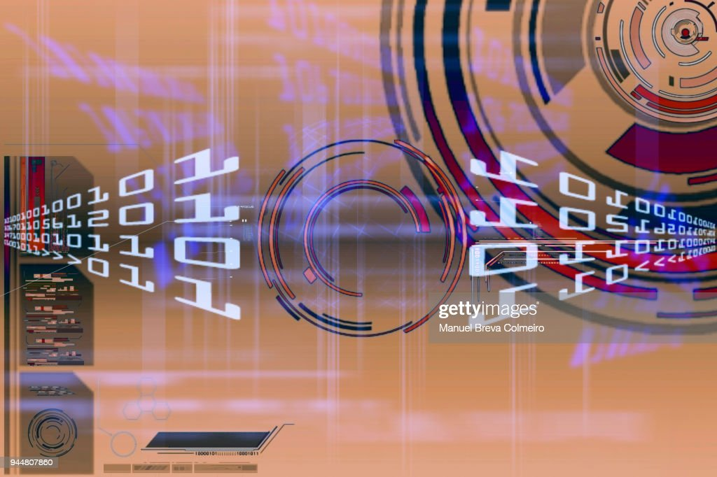 Technological background : Stock Photo