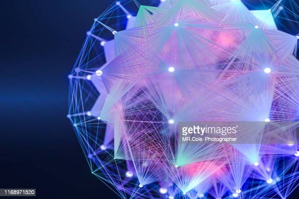 technology abstract background futuristic design,global communications connection with the optical fiber. - financial technology stock pictures, royalty-free photos & images