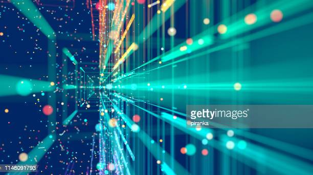 technology abstract - blue stock pictures, royalty-free photos & images