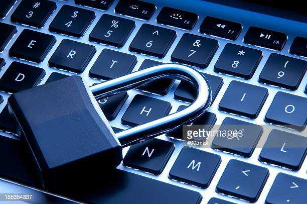 technology and security concept - identity theft stock pictures, royalty-free photos & images