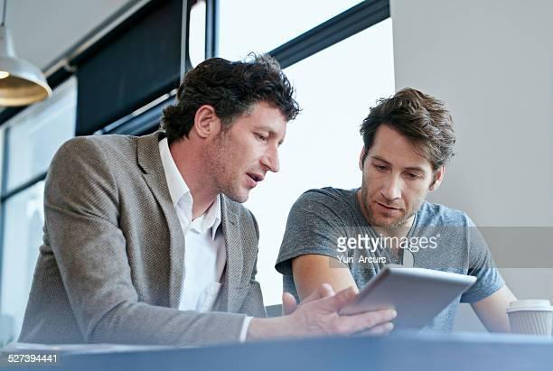 Technologie und teamwork
