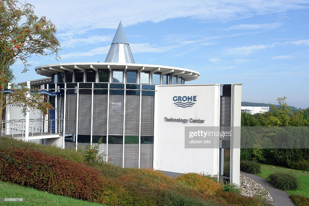 technology centre in the company headquarters hemer the grohe ag news photo getty images. Black Bedroom Furniture Sets. Home Design Ideas