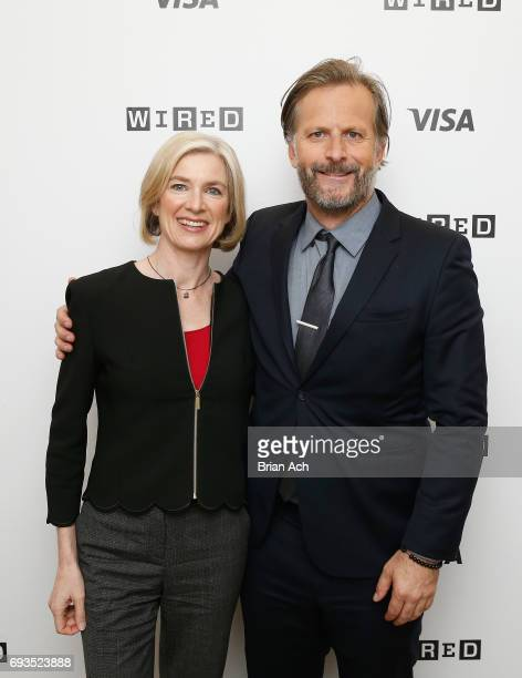 Technology CoInventor CRISPRCAS9 Jennifer Doudna and Head of Editorial on WIRED Robert Capps attend WIRED Business Conference Presented By Visa At...