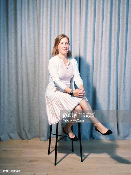 Technology executive and CEO of YouTube Susan Wojcicki is photographed for the Guardian on July 26 2019 in London England