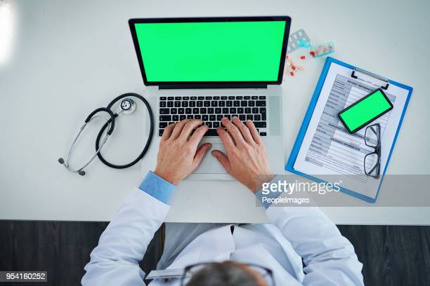 technology greatly influences medical processes and practices - representing stock pictures, royalty-free photos & images