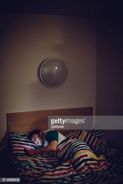 technology in bed - sepsis stock pictures, royalty-free photos & images