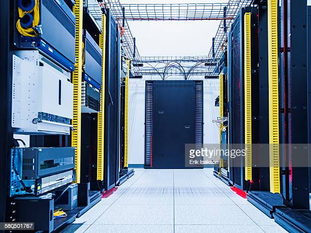 Technology in server room
