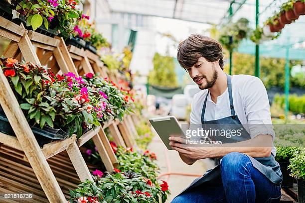 Technology in the garden center