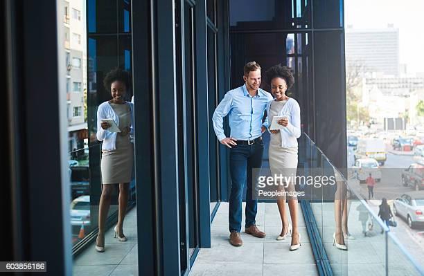 Technology lends a fun aspect to business