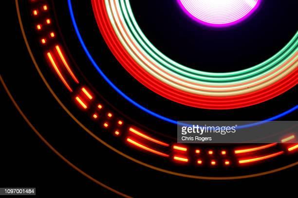 technology - lights - orbiting - fotografias e filmes do acervo