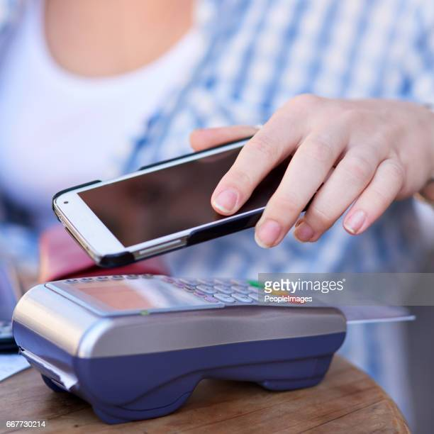 Technology makes it so easy to pay these days