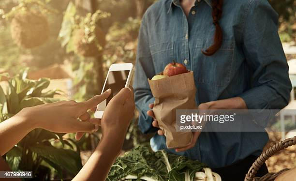 Technology makes purchases easy anytime and anywhere