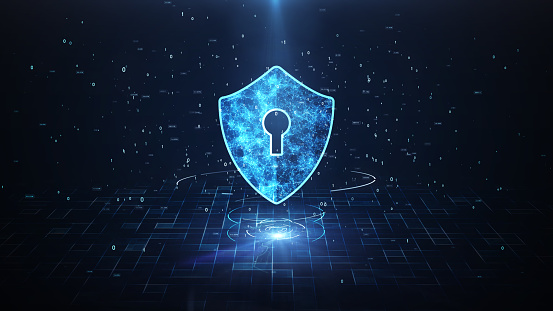 Technology Security Concept. 1145361636