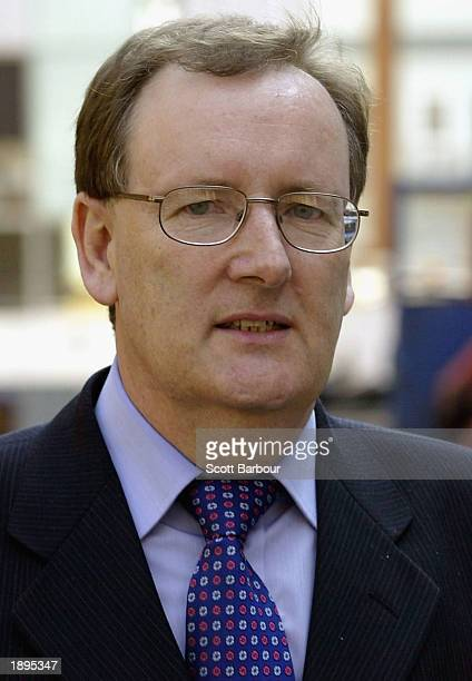 Tecwen Whittock arrives at Southwark Crown Court April 4, 2003 in London, England. Charles Ingram and his wife Diana, along with business lecturer...
