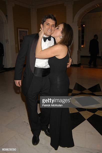 Ted Allegert and Kate Barry attend The Museum of The City of New York, The Directors Council 20th Annual Winter Ball at The Museum of The City of New...