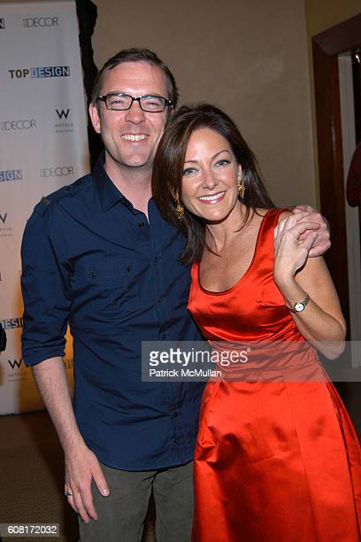 Ted Allen and Margaret Russell attend BRAVO's TOP DESIGN Finale Party Hosted by ELLE DECOR & W HOTELS at W New York - Union Square on April 11, 2007...