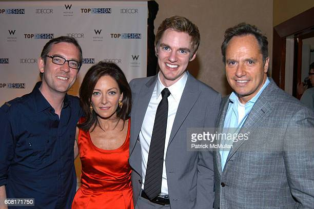 Ted Allen, Margaret Russell, Matt Lorenz and Lee Mendel attend BRAVO's TOP DESIGN Finale Party Hosted by ELLE DECOR & W HOTELS at W New York - Union...