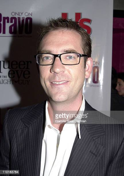 Ted Allen of Queer Eye For The Straight Guy during Bravo and Us Weekly Host The Fab Five Party to Celebrate the Premiere of Bravo's New Series Queer...