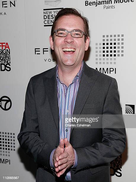 Ted Allen of the Food Network attends the 2011 DIFFA Dining by Design New York Gala Dinner at Pier 94 on March 21 2011 in New York City