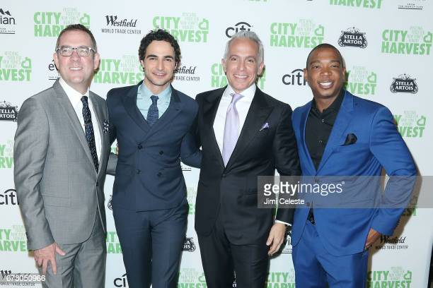 Ted Allen Zac Posen Geoffrey Zakarian and Ja Rule attend the City Harvest's 23rd Annual Gala at Cipriani 42nd Street on April 25 2017 in New York City