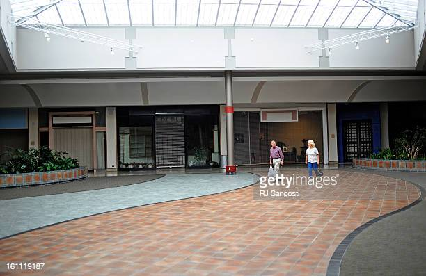 MALL29 Ted and Mildred Vahl shop at The Westminster Mall on Wednesday The Westminster Mall according to a city study is dilapidated withering and...