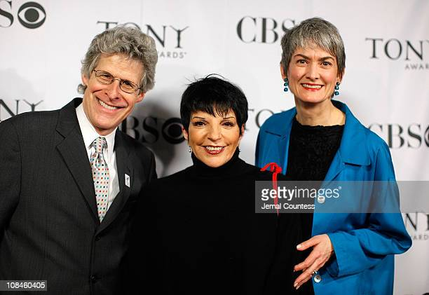 Ted Chapin Chairman of the American Theatre Wing Actress Liza Minnelli and Nina Lennan Chairman of the Broadway League attend the 2009 Tony Awards...