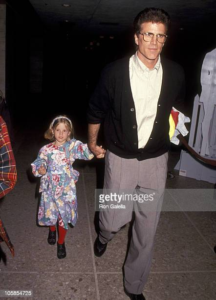 Ted Danson and Alexis Danson during Los Angeles Premiere of 'My Girl' at Cineplex Odeon in Century City California United States