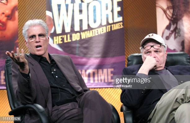 "Ted Danson and Brian Dennehy of ""Our Fathers"" during Showtime TCA Day at Universal Hilton in Los Angeles, California, United States."