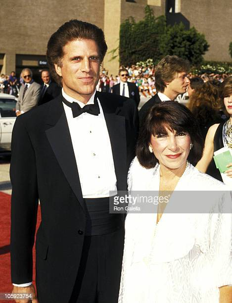 Ted Danson and Casey Coates during 38th Annual Primetime Emmy Awards at Pasadena Civic Auditorium in Pasadena California United States