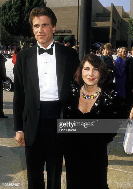 Ted Danson and Casey Coates during 39th Annual Emmy Awards September 20 1987 at Pasadena Civic Auditorium in Pasadena California United States