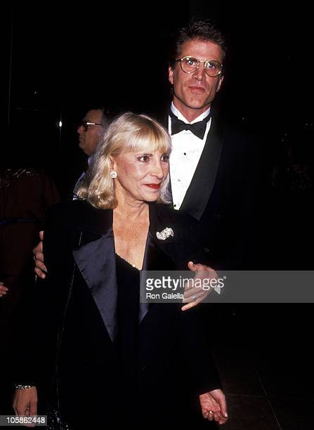 Ted Danson and Casey Coates during 48th Annual Golden Globe Awards at Beverly Hilton Hotel in Beverly Hills California United States