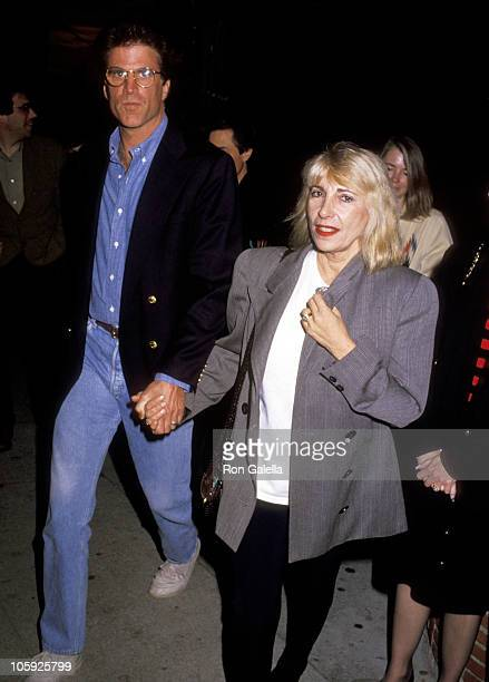 Ted Danson and Casey Coates during Play Performance of Brooklyn Laundry May 3 1991 at Coronet Theater in Westwood California United States