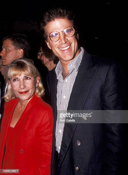 Ted Danson and Casey Coates during Screening of Doc Hollywood July 31 1991 at The Academy Theater in Beverly Hills California United States