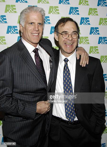 Ted Danson and David MacEnulty during Knights of the South Bronx New York City Premiere and AE's Lives That Make a Difference Ceremony at Fashion...