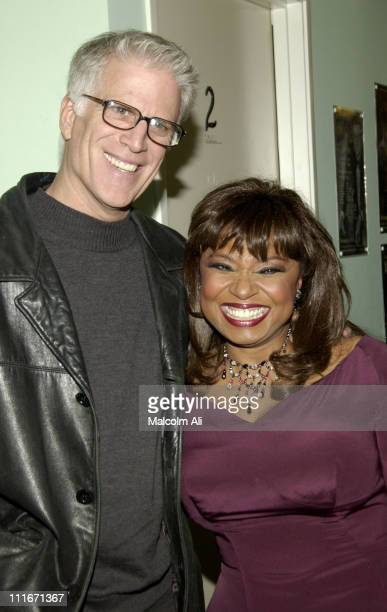 Ted Danson and Hattie Winston during Hattie and Harold's on Stage Cabaret at The Alex Theatre in Glendale California United States
