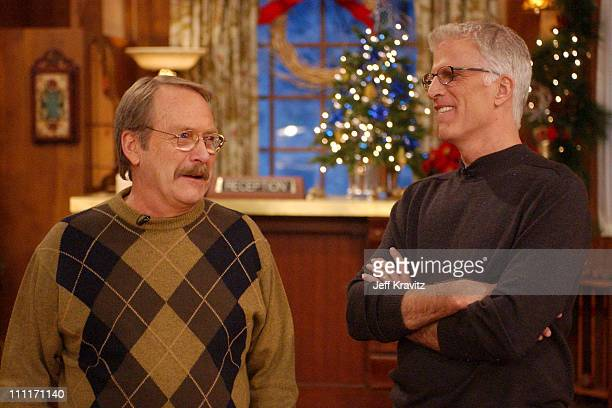 """Ted Danson and Martin Mull during Nick at Nite Celebrates the Holiday Season with """"The Nick at Nite Holiday Special"""" Airing on Friday, Nov. 28 at CBS..."""
