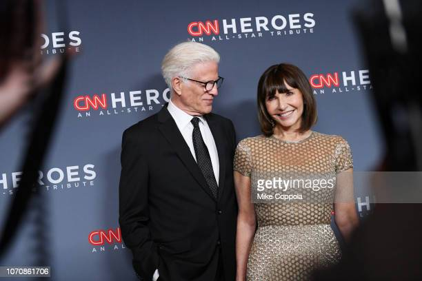 Ted Danson and Mary Steenburgen attend the 12th Annual CNN Heroes An AllStar Tribute at American Museum of Natural History on December 9 2018 in New...