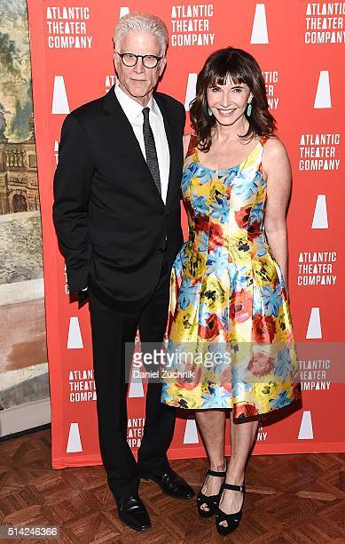 Ted Danson and Mary Steenburgen attend the 2016 Atlantic Theater Company Actors' Choice Gala at The Pierre Hotel on March 7 2016 in New York City