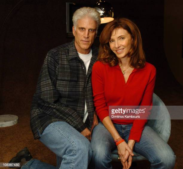 Ted Danson and Mary Steenburgen during 2005 Park City Motorola Lodge at Motorola Lodge in Park City Utah United States