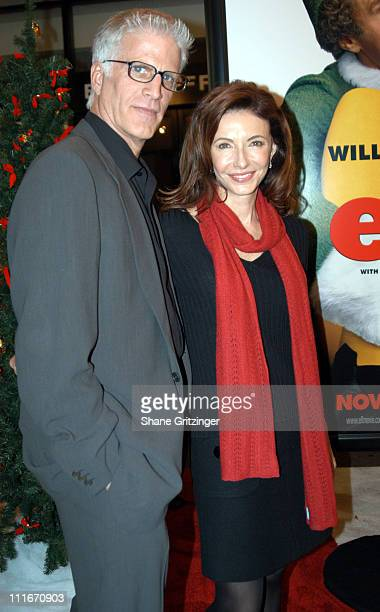 Ted Danson and Mary Steenburgen during 'Elf' New York Premiere at Loews Astor Plaza in New York City New York United States
