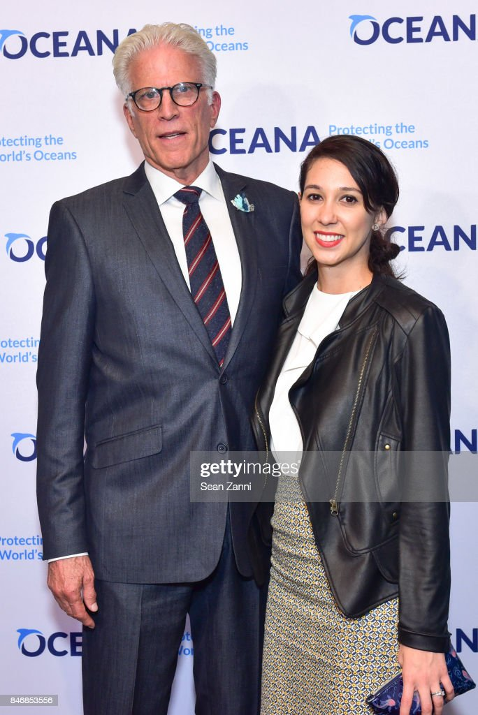 Ted Danson and Rebecca Carriero attend the Oceana New York Gala at Blue Hill at Stone Barns on September 13, 2017 in Tarrytown, New York.