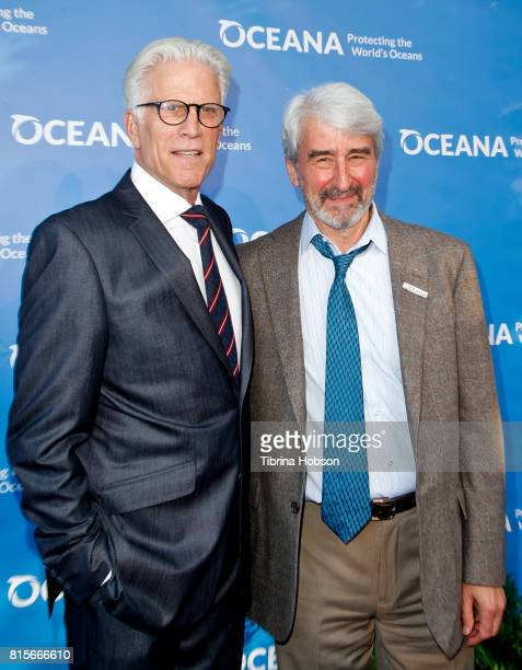 Ted Danson and Sam Waterston attend the 10th annual Oceana SeaChange Summer Party at Private Residence on July 15 2017 in Laguna Beach California