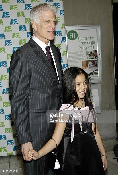 Ted Danson and Yucini Diaz during Knights of the South Bronx New York City Premiere and AE's Lives That Make a Difference Ceremony at Fashion...