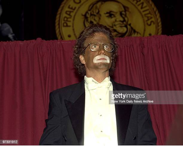 Ted Danson appears in black face during New York Friars Club Roast of Whoopi Goldberg