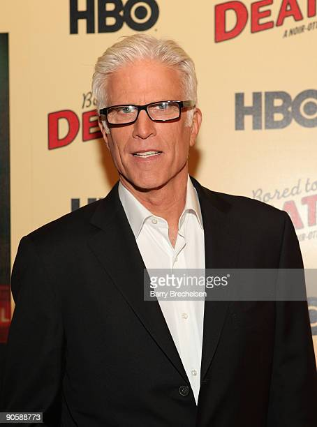 Ted Danson attends the premiere of HBO's Bored to Death at the Clearview Chelsea Cinemas on September 10 2009 in New York City