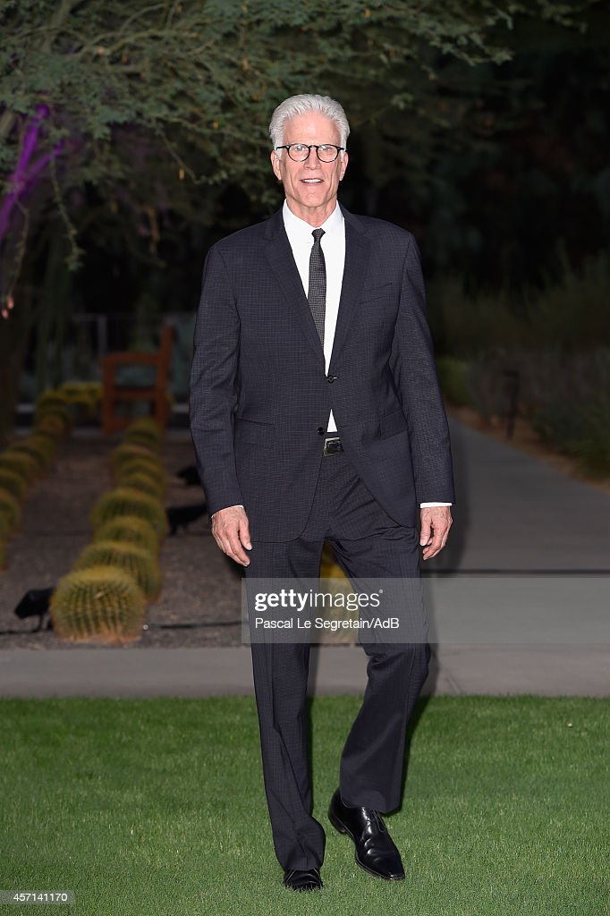 Ted Danson attends the 'Prince Albert II of Monaco's Foundation' Award Ceremony on October 12, 2014 in Palm Springs, California.